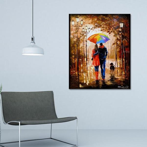 3D 가을밤 연인 (40x50cm)