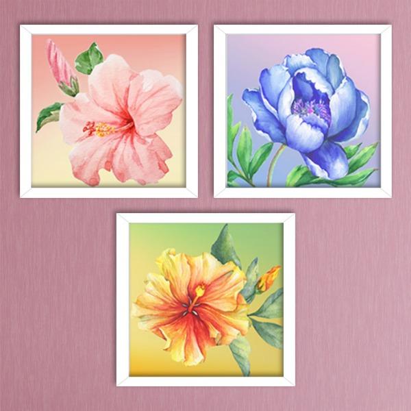 5D 향기로운 꽃 시리즈 (20x20cm)